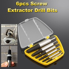 1 Sets perfect Screwdriver Extractor Bit Alloy Steel Double Side Screw Center Drill Bits Removal Tools Pull Out