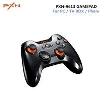 PXN PXN-9613 геймпад Беспроводной игровой контроллер Bluetooth Портативный держатель для Планшетные ПК Android-смартфон ТВ коробка