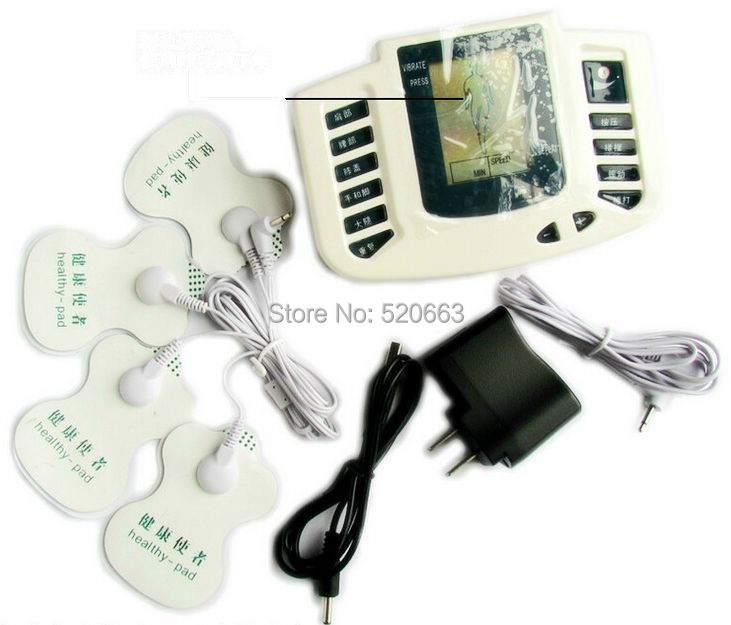 JR309 Health Care massager Tens Acupuncture Therapy Machine Pads family Doctor Slimming Body  Electrical Stimulator massager