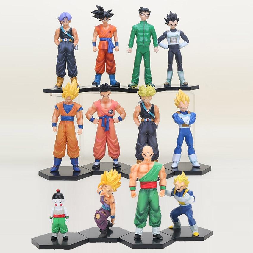 Bean-Bags Super Rare Dragon Ball Son Goku Gohan Vegeta Trunks Film