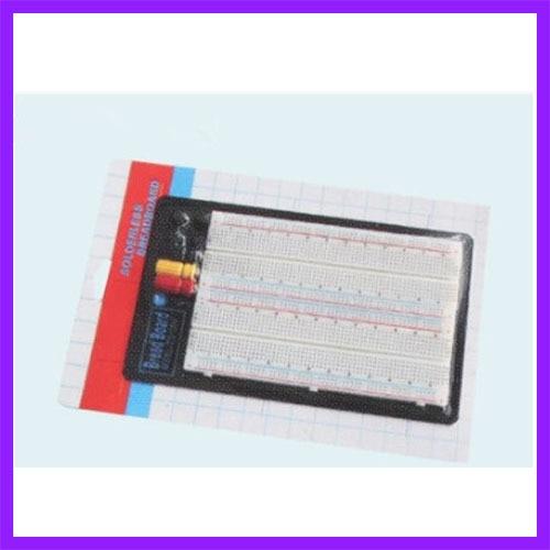 1660 Hole Point Breadboard Welding Free Circuit Test Version