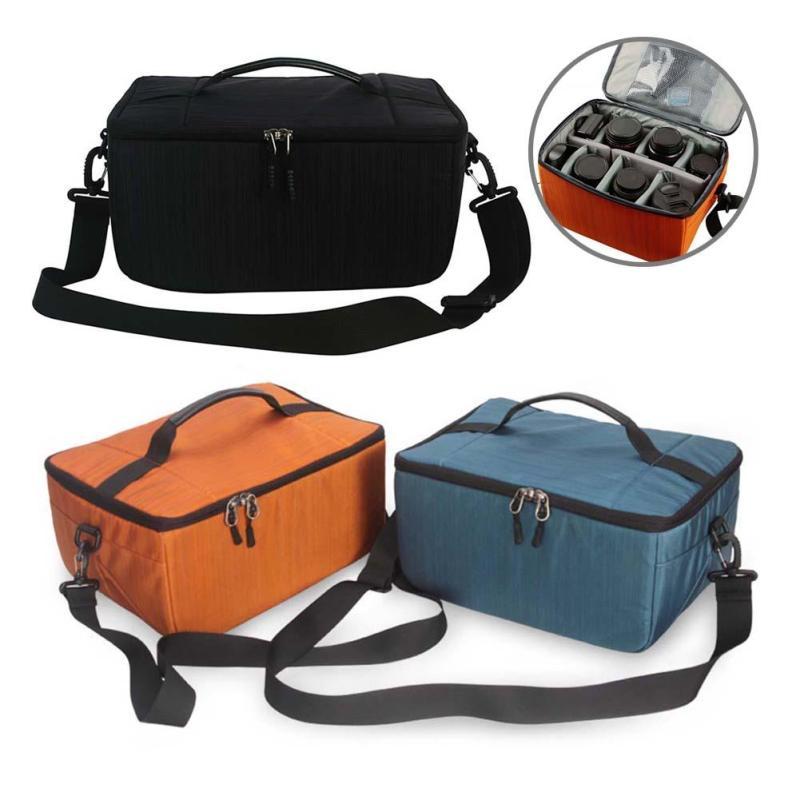 все цены на xvgjdz Waterproof Protector Photography Camera Carry Bag Insert Partition Dividers Case Fit DSLR SLR Lens Canon Nikon Sony