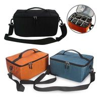 xvgjdz Waterproof Protector Photography Camera Carry Bag Insert Partition Dividers Case Fit DSLR SLR Lens Canon Nikon Sony