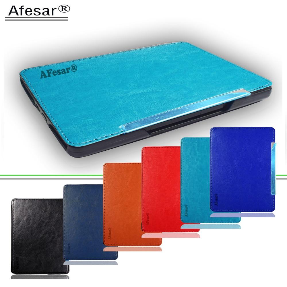 Hot Sale] folio pu leather case for Amazon kindle basic 4/5