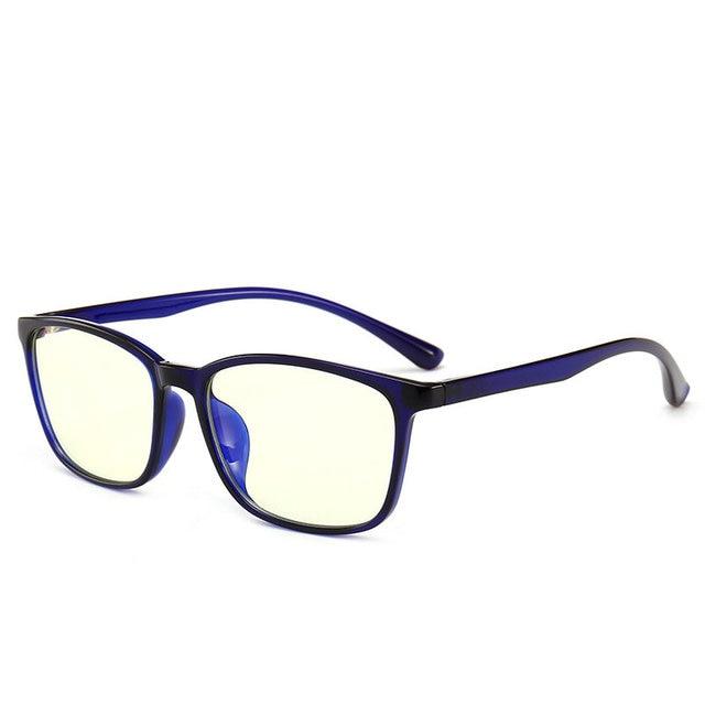 774e77e6b61 MINCL TR90 Blue Light Eyeglasses Oversized Optical Myopia square Eyewear  Black Computer Glasses Frame for