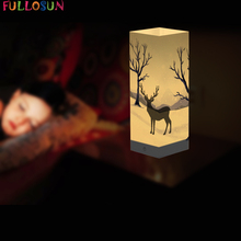 цена на Novelty LED Shadow Lamp Car Model Night Light Projection USB Table Lamp for Kids Holiday Gift