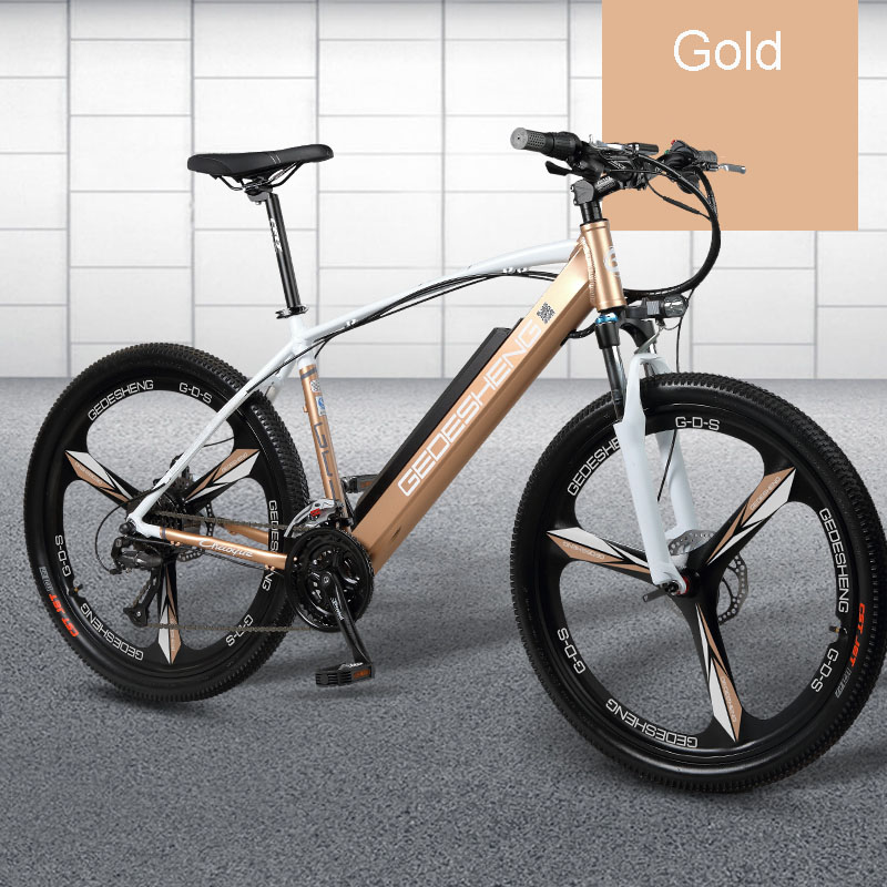26 Inch electric smart mountain bike Disc brake smart lithium battery male ladies electric bicycle powe with  smart LCD screen free shipping 48v 15ah battery pack lithium ion motor bike electric 48v scooters with 30a bms 2a charger