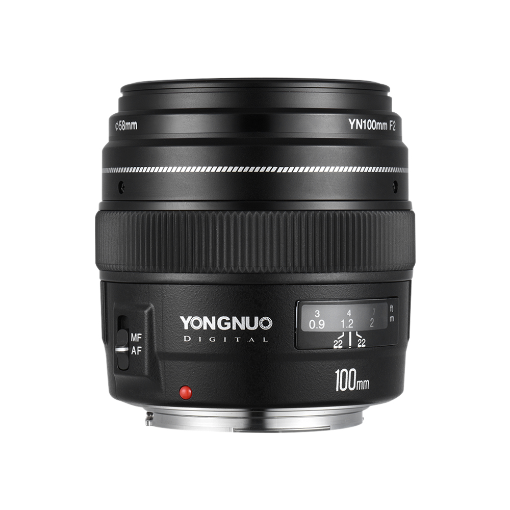 YONGNUO YN100mm F2 Medium Telephoto Lens Prime Lens Large Aperture Auto Focus Lens for Canon EOS Rebel Camera AF MF джинсы узкие dc washed slim jea pant light stone