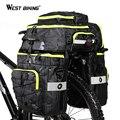 WEST BIKING, 75л, велосипедные сумки, 3 в 1, Велоспорт, Паньер, багаж для горного велосипеда, задние сиденья, сумки для багажника, водонепроницаемый, ...