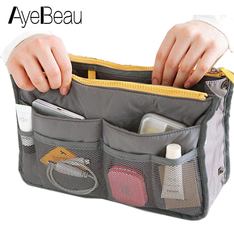 Vanity Toiletry Kit Travel Necessaire Make Up Necessaries Makeup Cosmetic Bag Organizer For Women Wash Beauty Case Pouch Handbag lady s mini patent leather cosmetic bags make up tools organizer pouch wash toiletry vanity travel case accessories supplies
