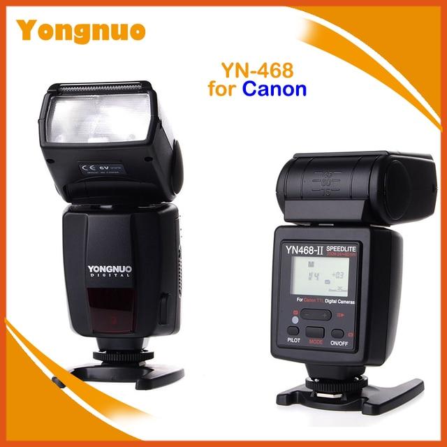 Yongnuo YN-468 II YN-468II ETTL II DSLR Camera Flash Light Speedlight for Canon 60D 50D 40D 30D