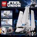 LEPIN 05034 Star War Series The Imperial Shuttle Building Blocks Bricks Mini Assembled Toys Compatible with 10212 Gifts