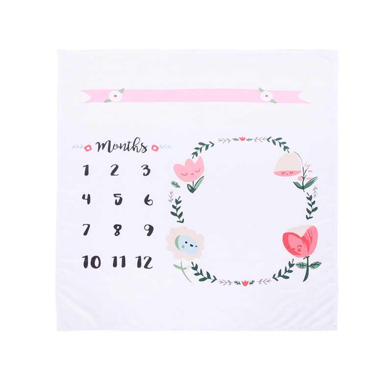 Mantas de bebés con motivos florales DIY, fondos de utilería de fotografía para recién nacidos, manta para bebé, colcha para cama y cuna, Toalla de baño