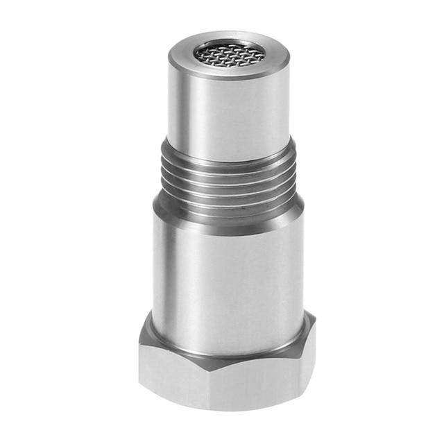 Yetaha מנוע אור מתאם CEL Eliminator מיני קטליטי ממיר עבור רוב M18 X 1.5 חוט O2 חיישן מרווחי