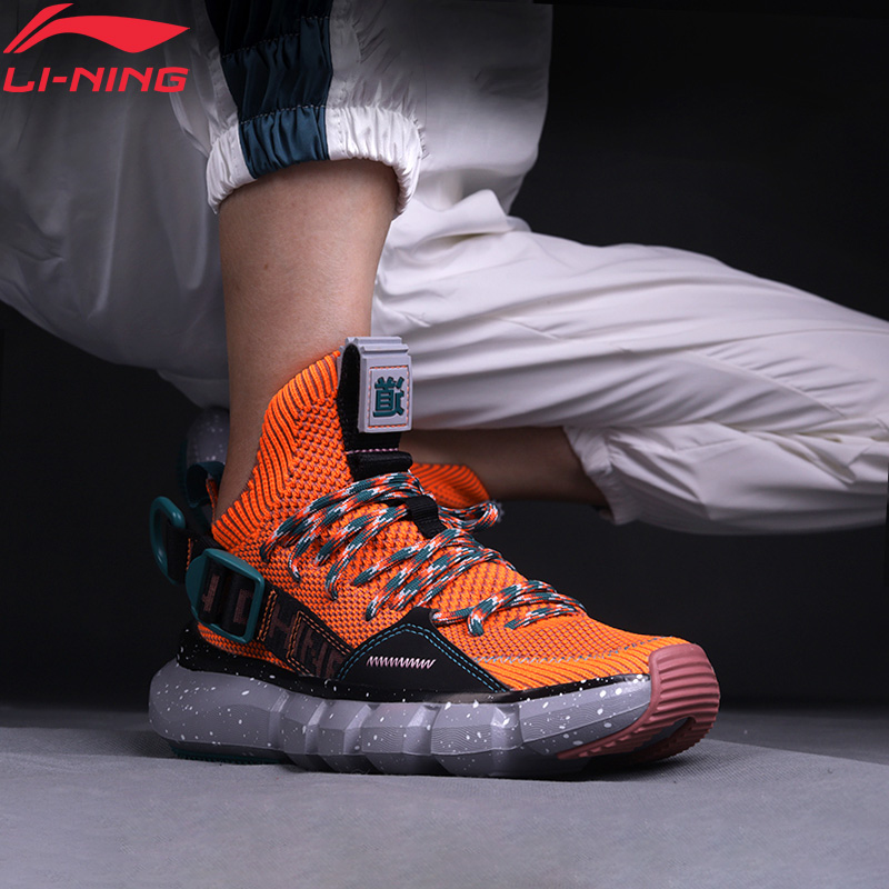 Li-Ning Men 2019 NYFW ESSENCE 2.3 Basketball Culture Shoes Wearable Breathable LiNing Li Ning Sport Shoes Sneaker AGBP095 XYL257