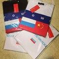 Estilo Gosha Gosha Rubchinskiy camiseta Hombres de Las Mujeres Del Verano Camiseta de La Bandera Asap Rocky Patinetas Palacio Gosha Rubchinskiy camiseta