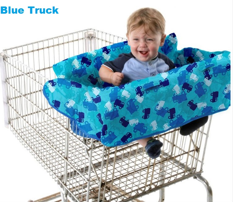 Baby Shopping Supermarket Trolley Cart Seat Pad Child High Chair Cover