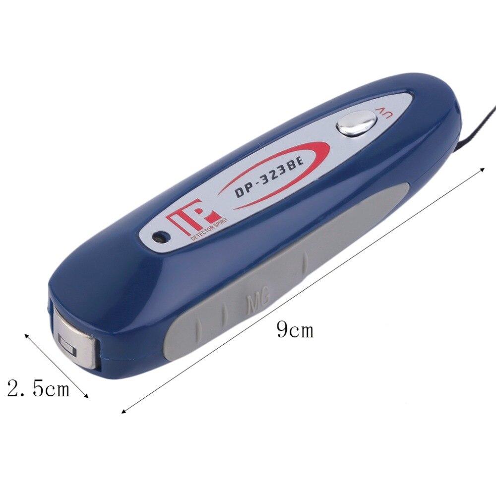 Мини 2 в 1 УФ валюта деньги Примечание детектор поддельный проверки с ремешком новейший по всему миру стильный