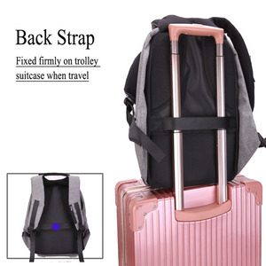 Image 5 - 15.6 Inch Laptop Backpack For MacBook Pro 15 Anti Theft 17.3 inch Laptop Bag Backpack Men/Women Oxford Waterproof Notebook Bag