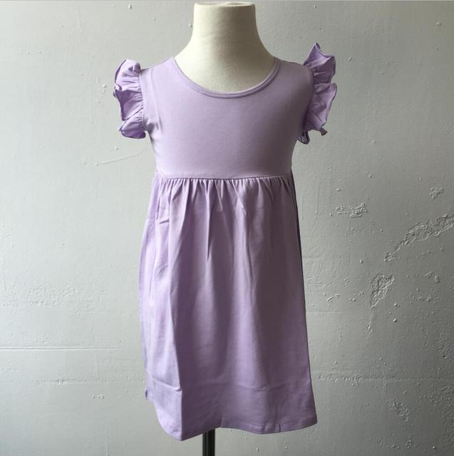Factory Wholesale Children's Cotton Smock Dress OEM Design Girls Amazing Smock Dress Pattern