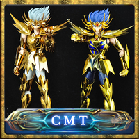 CMT Restock MetalClub Model Cancer Deathmask Saint Seiya metal armor Myth Cloth Gold Ex2.0 Action Figure Anime Toys Figure
