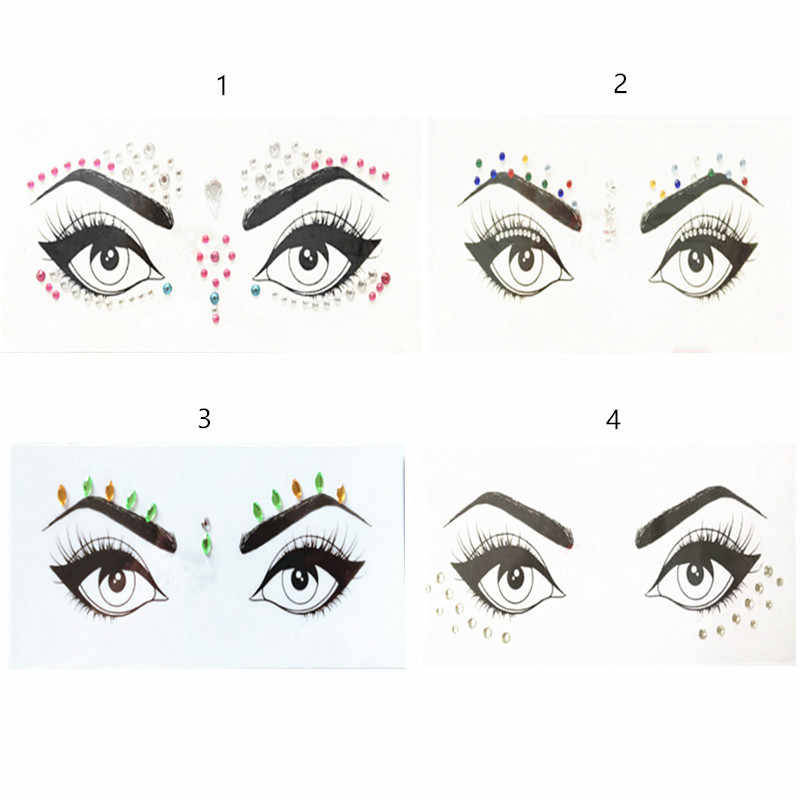 24fd2dc2a3 Detail Feedback Questions about 1PC Face Jewels Christmas DIY ...