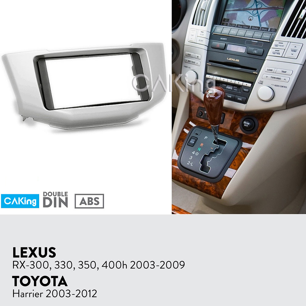 Car Fascia Radio Panel for Toyota Harrier 2003 2012 Lexus RX 300 330 350 400h 2003