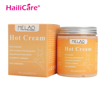 Weight Loss Cream Body Massager New 250g Anti Cellulite Hot Cream Fat Burner Gel Slimming Cream Massage Hot Anti-Cellulite