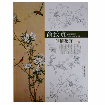 Chinese Meticulous Claborate Style Painting Book Chinese Traditional GongBi Painting China Ancient Flower Textbook chinese meticulous claborate style painting book chinese traditional gongbi painting china ancient flower textbook