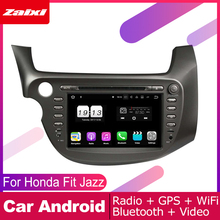 ZaiXi 2 DIN Auto DVD Player GPS Navi Navigation For Honda Fit Jazz 2007~2014 Car Android Multimedia System Screen Radio Stereo yessun car android navigation system for fiat palio 2004 2014 radio stereo cd dvd player gps navi bt hd screen multimedia