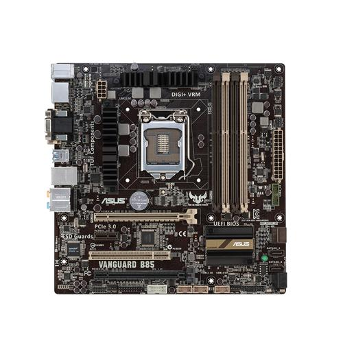 VANGUARD B85 Carte Mère De Bureau B85 LGA1150 DDR3 32G SATA3 USB3.0 Micro-ATXmotherboard 90% nouveau