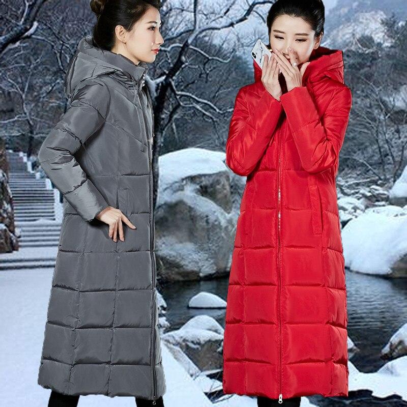 2019 Бесплатная доставка Новая осенне зимняя хлопковая свободная пуховая одежда для полных женщин с подкладкой Женская рабочая одежда модное пальто