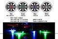 2 pcs 4 cores Matek Rodada 1806 2204 2206 Montagem Do Motor Levou Placa de luz 5 V para FPV QAV250 ZMR180 QAV180 ROBOCAT 270 quadcopter