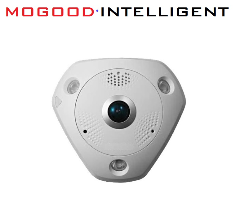 HIKVISION Chinese Version DS-2CD63C2F-I 12MP Fisheye View 360 Indoor CCTV IP Camera SD Card PoE With IR