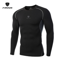 2017 New Fashion Fitness Compression Shirt Men Cosplay Male Crossfit Bodybuilding Men T Shirt Clothing