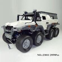 H & HXY 23011 2959 Unids Serie Técnica de vehículos Off-road Kits de Edificio Modelo Bloques Ladrillos Compatibles Juguetes niño brithday regalos lepin