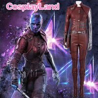 Nebula Cosplay Costume Adult Women Avengers Endgame Evil Nebula Halloween Christmas Party Sex Costumes Outfit customized