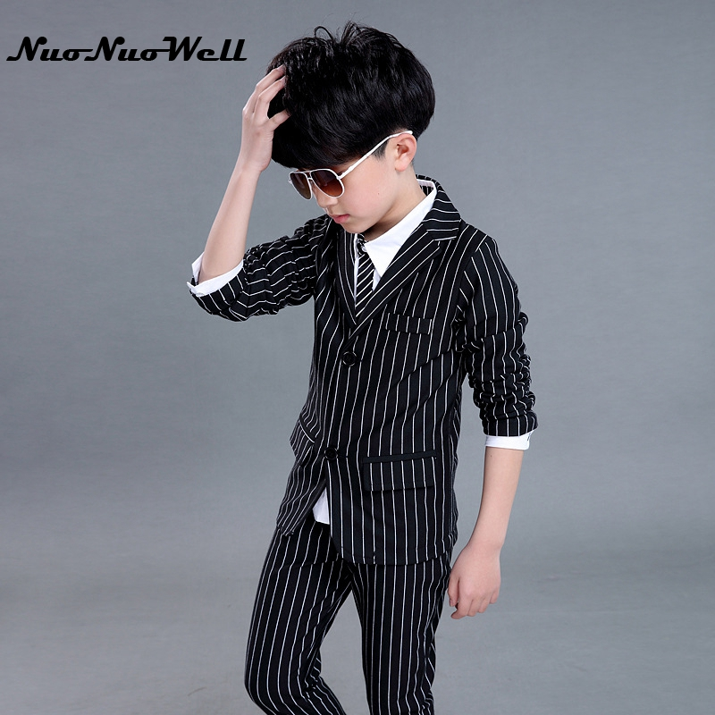 Children s Blazers Suit Wedding Suits Party Clothing Boys Dresses Teenager  Boys Gentle Suits Coat + Pant 2Pcs Kid Formal Sets c27020e2b6a6