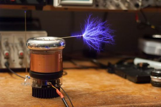 Pre order Tesla coil is still in production