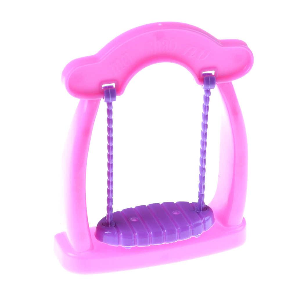 1 قطعة كرسي هزاز صالة الشاطئ ل دمية الكراسي الوردي حلم البيت غرف معيشة غاردان الأثاث إكسسوارات دمي