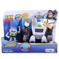 Anime Dos Desenhos Animados Toy Story 3 Buzz Lightyear Terno Turbo DSFG182 PVC Figuras de Ação Brinquedos Colecionáveis Frete Grátis