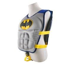 New kids life jacket vest Superman batman spiderman swimming boys girls fishing superhero swimming circle pool accessories ring
