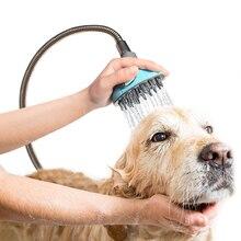 Pet Bathing Tool Shower Sprayer for Dogs Dog Bath Artifact Brush, & Cat Bathe Massage, Bathtub Garden Adapter,