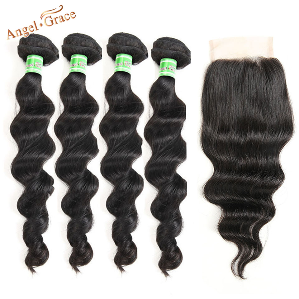 loose wave hair with closure 2