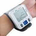 Uso en el hogar inflación automática por interna de la bomba de nueva LCD Digital automático de muñeca medidor de presión arterial