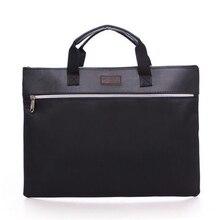 Case-Supplies Briefcase Document-Bag Business File-Folder Filing-Product Zipper Office