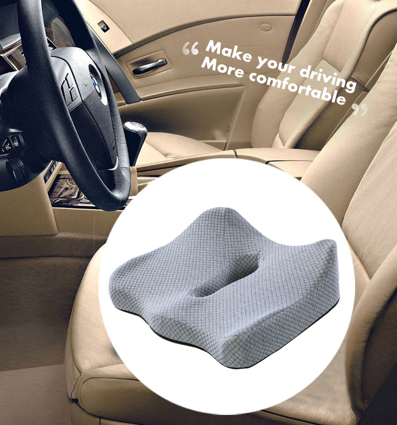 HTB1DRIBQwHqK1RjSZJnq6zNLpXaY PurenLatex 45*40 Orthopedic Coccyx Memory Foam Chair Car Seat Cushion Pillow Pad Wheelchair Mats For Postpartum Hemorrhoid Treat
