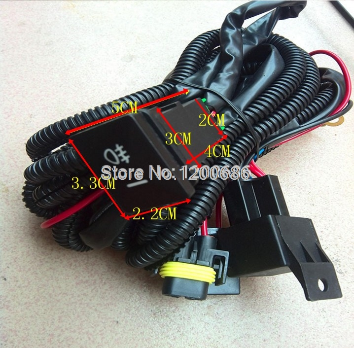 Factory Style 4 Pole 12v Push Button Switch Wire Harness