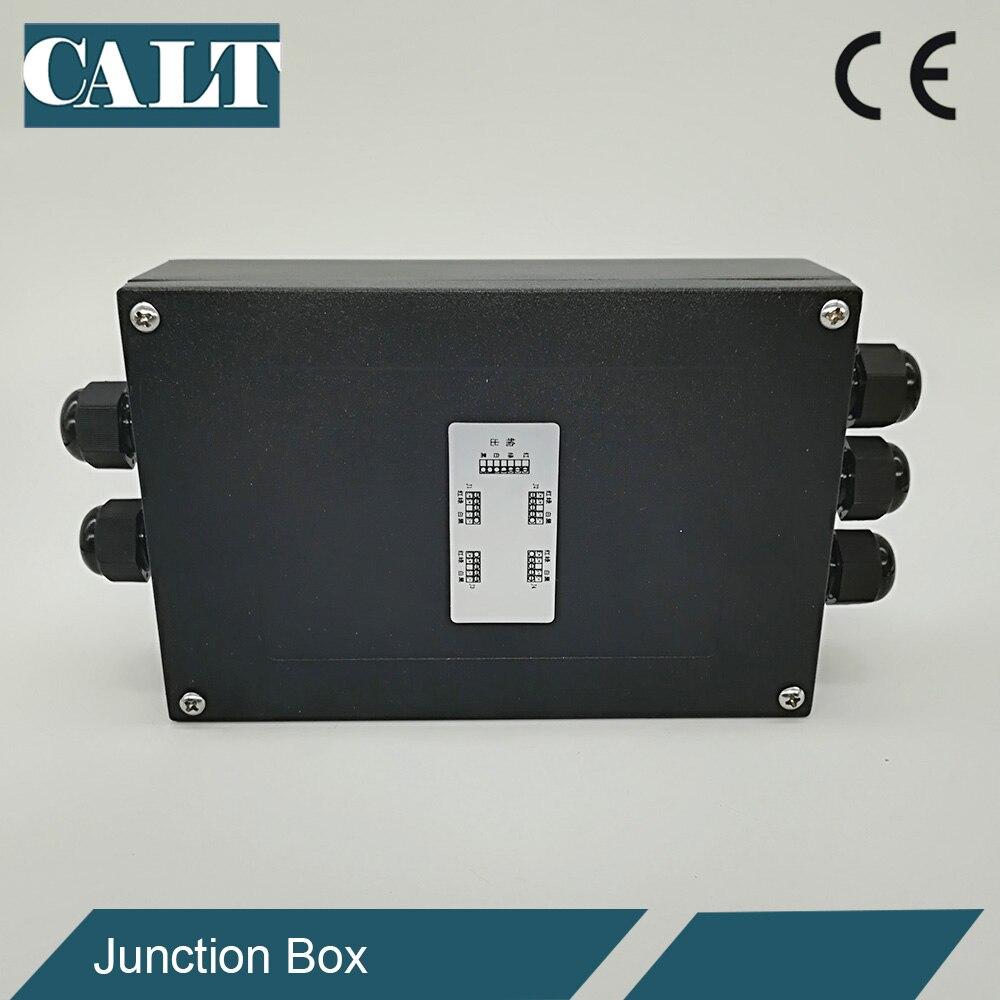 CALT Multi-Giunto 3 4 6 8 10 modi in 1 In Metallo impermeabile cella di carico scala di peso scatola di giunzione summatorCALT Multi-Giunto 3 4 6 8 10 modi in 1 In Metallo impermeabile cella di carico scala di peso scatola di giunzione summator