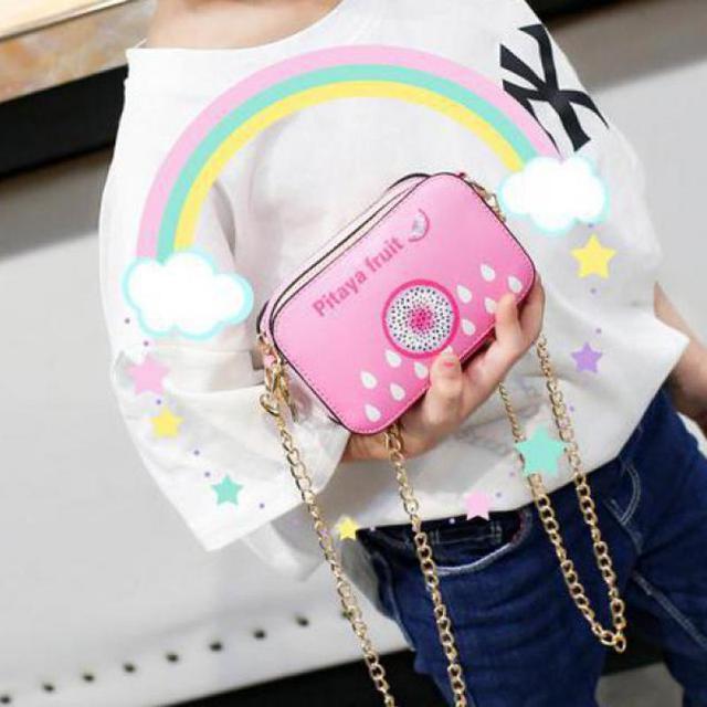 New Children's Bag Cute Shoulder Bag Wild Fruit Messenger Bag Mini Wallet A236